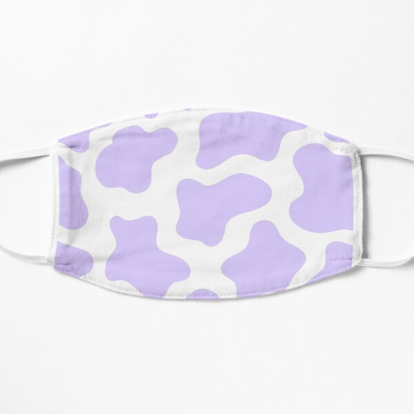 purple cow print! Flat Mask