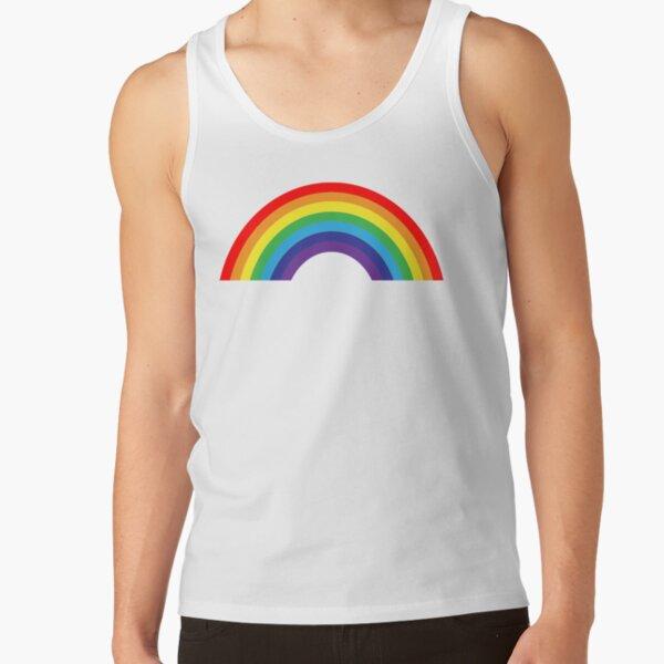 leo • theo   Pride rainbow Tank Top