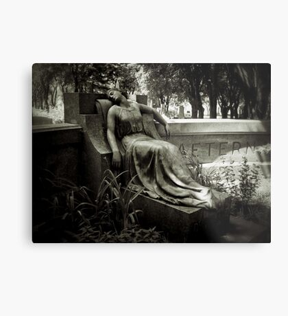 I am Stretched on Your Grave Metal Print