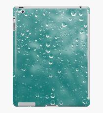 Abstract raindrops iPad Case/Skin