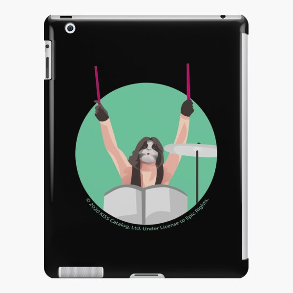 KISS - The Catman - On The Drums - Simple Vector Illustration iPad Snap Case