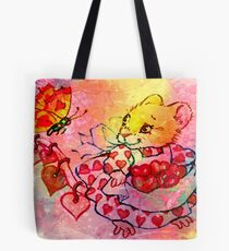 COLLECTING VALENTINES Tote Bag