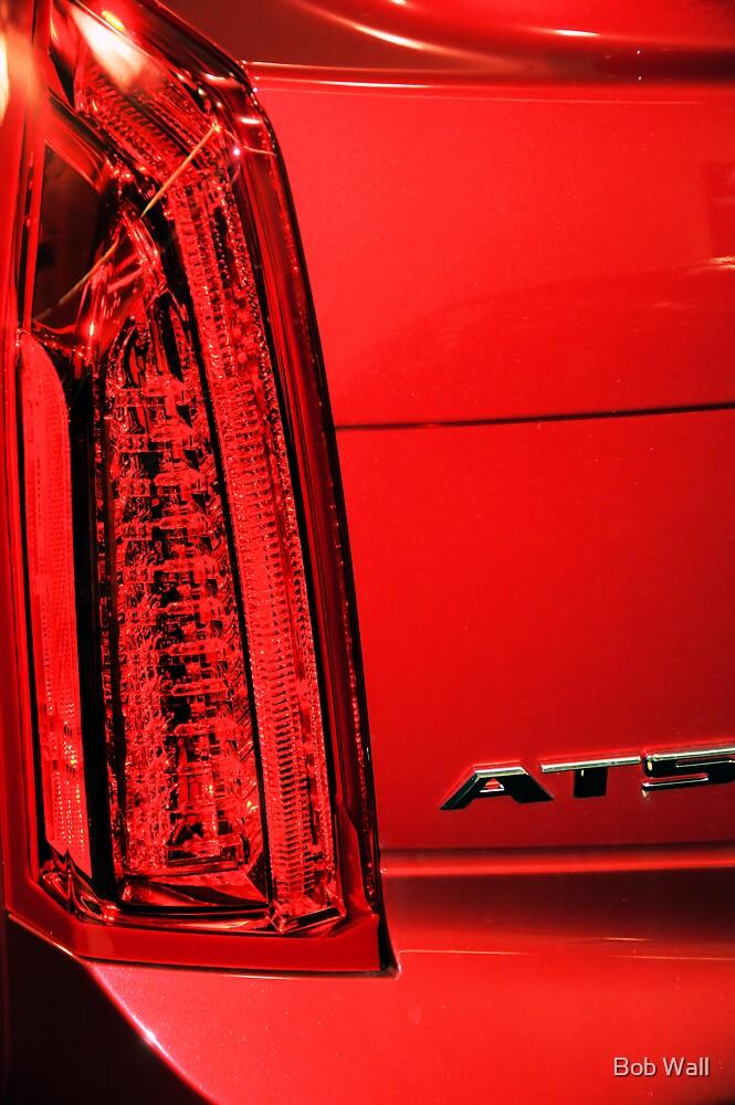Cadillac ATS in Red by Bob Wall