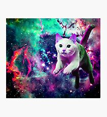 Space pounce Photographic Print