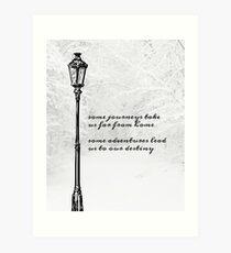 Lámina artística Publicación de la lámpara de Narnia