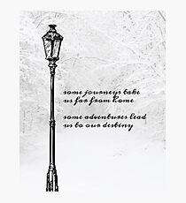 Narnia Lamp Post Photographic Print