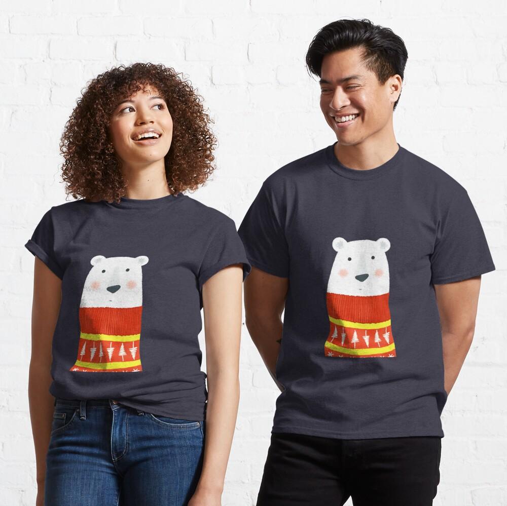 Polar Bear with Sweater Classic T-Shirt