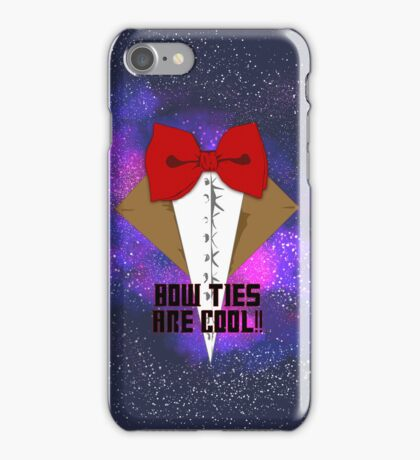 Bow Ties are cool! iPhone Case/Skin