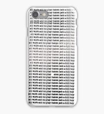 The Shining - All Work And No Play (Redrum) iPhone Case/Skin