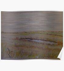 Norfolk Marshes, Blakeney Poster