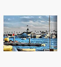 Balboa Pavilion Newport Beach, California Photographic Print