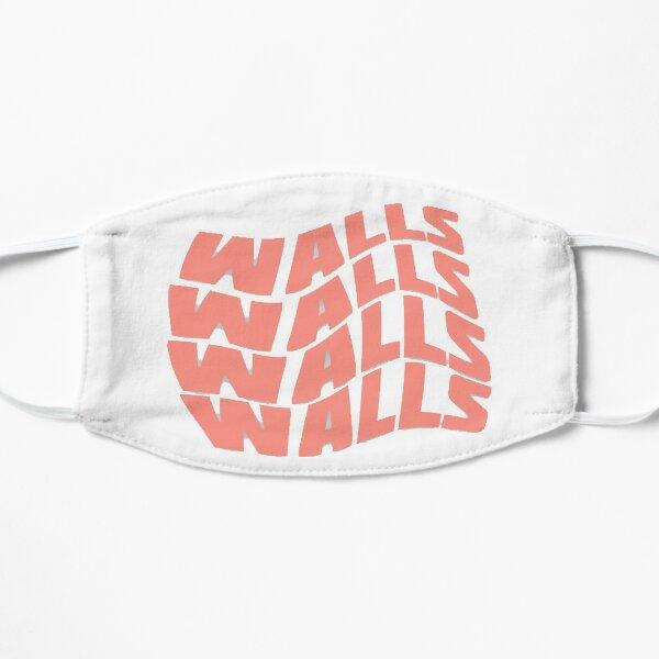 Louis Tomlinson Album Walls Curvy Logo Mascarilla plana
