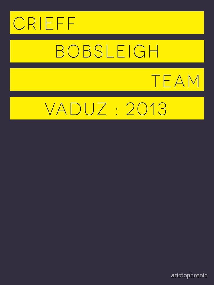 Crieff Bobsleigh Team - Vaduz 2013 | Women's T-Shirt