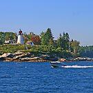 Burnt Island Lighthouse by Jack Ryan