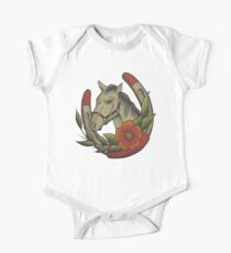 Traditional Horse and Horse Shoe Kids Clothes