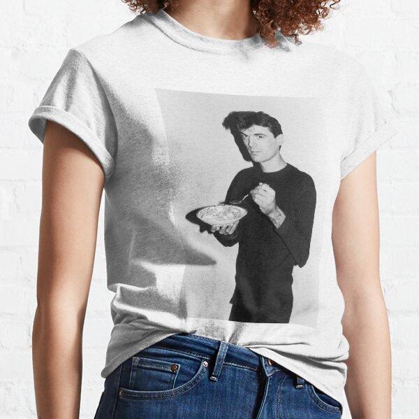 David Byrne mange des céréales T-shirt classique