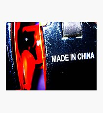 robot made in china Photographic Print