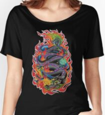 Fire Dragon Women's Relaxed Fit T-Shirt