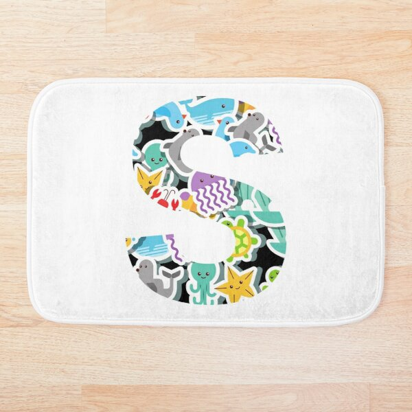 S the Ocean Bath Mat