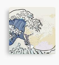 GREAT WAVE - SURFER Canvas Print