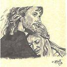 Faramir & Eowyn by Tony Heath