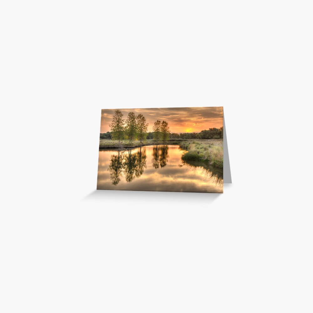 A Late Summer Reflection Greeting Card