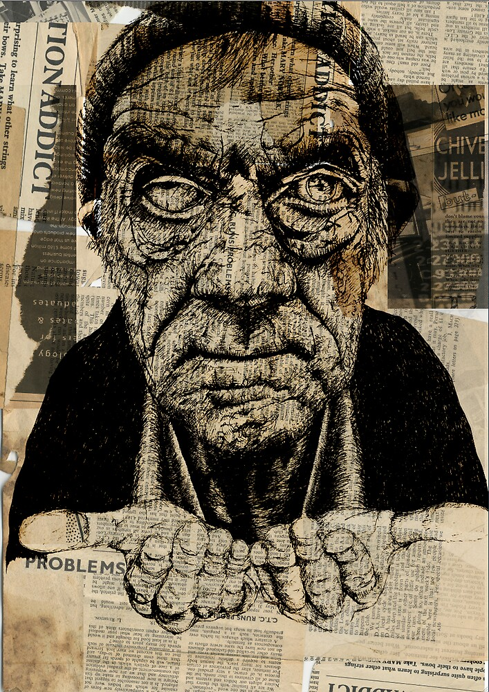 The Begging Man by joemunro92