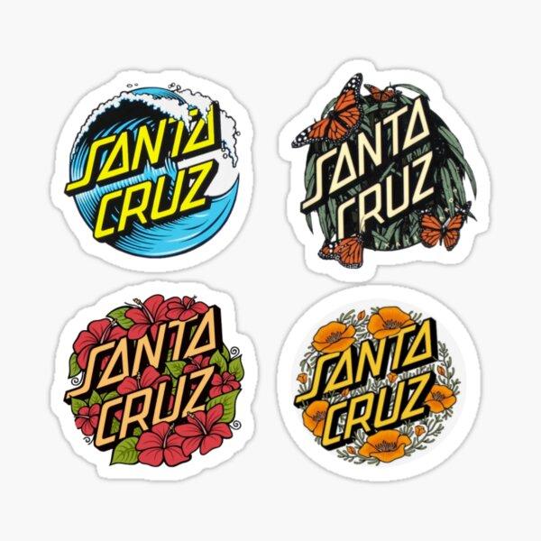 Santa Cruz Nature Sticker Pack Sticker