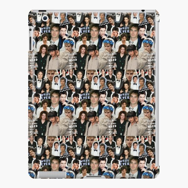 damon salvatore collage iPad Snap Case