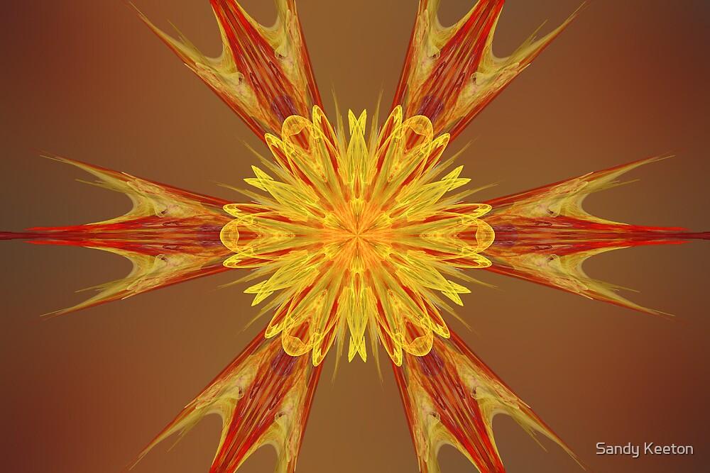 Linear Flower by Sandy Keeton