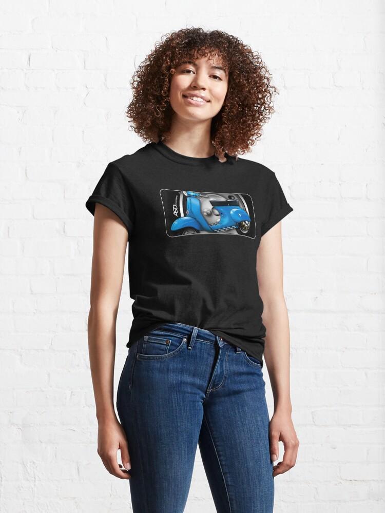 Alternate view of Primavera scooter design 2 Classic T-Shirt