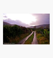New Years Day Walk in the Glens of Antrim Photographic Print