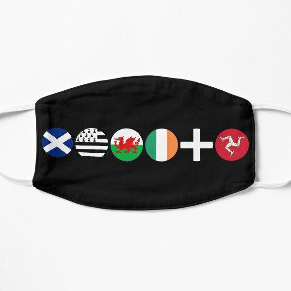 Cercles de drapeaux celtiques Masque sans plis