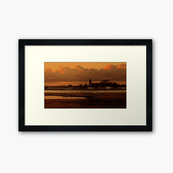 Bosham Sunset Framed Art Print