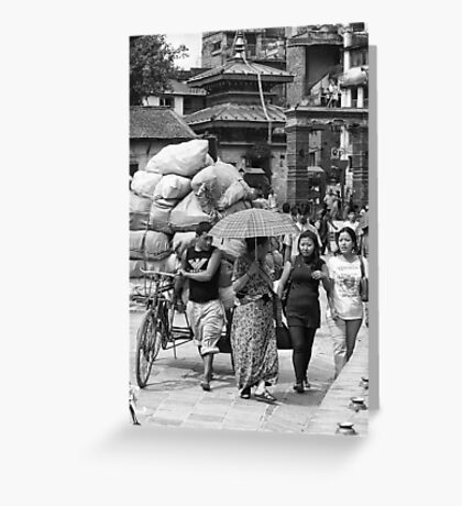 Heavy load... Greeting Card