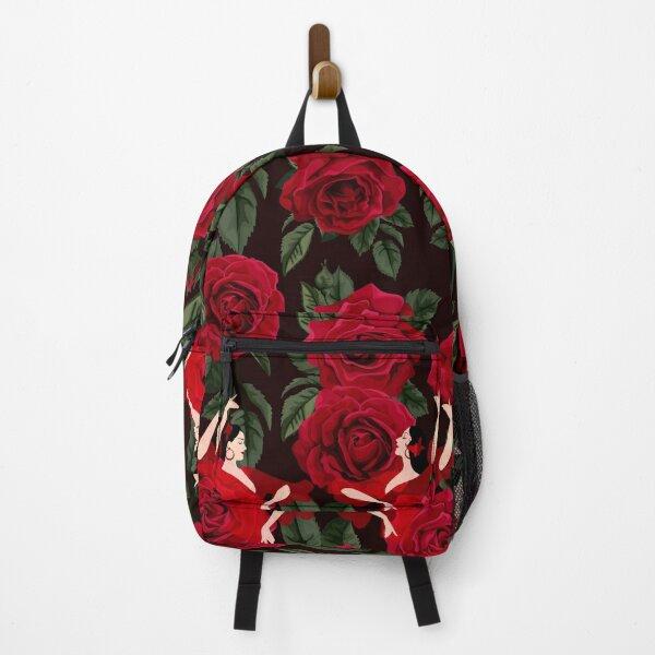 Flamenco Roses Backpack