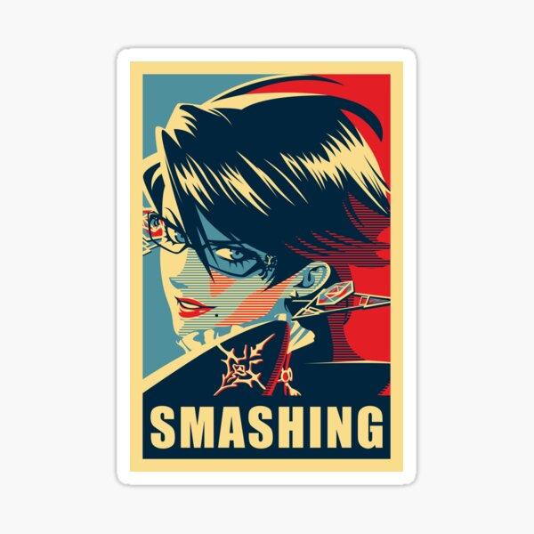 SMASHING Sticker