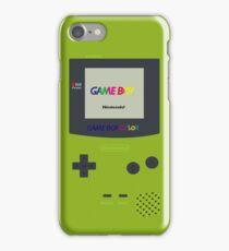 Gameboy Color (Green) iPhone Case/Skin