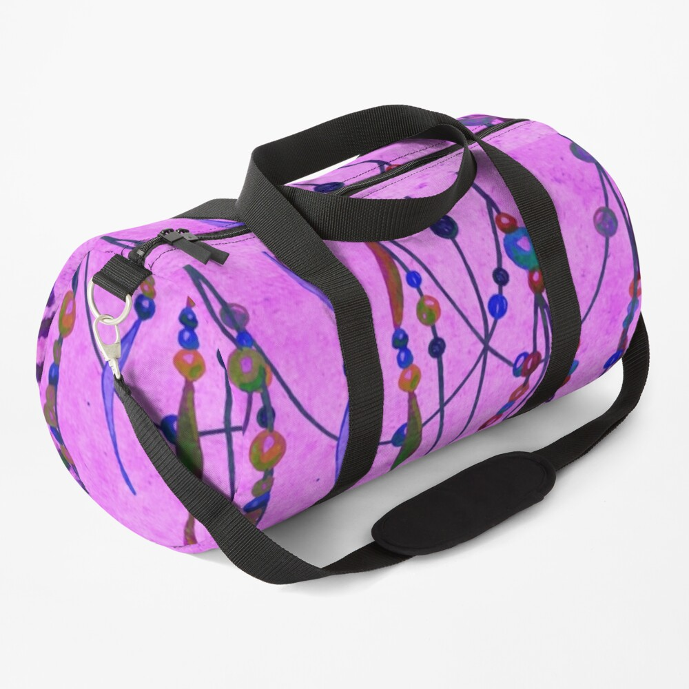 Festival in Pink Duffle Bag