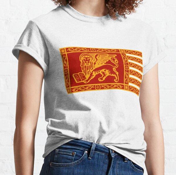 Bandera de Venecia simple Camiseta clásica