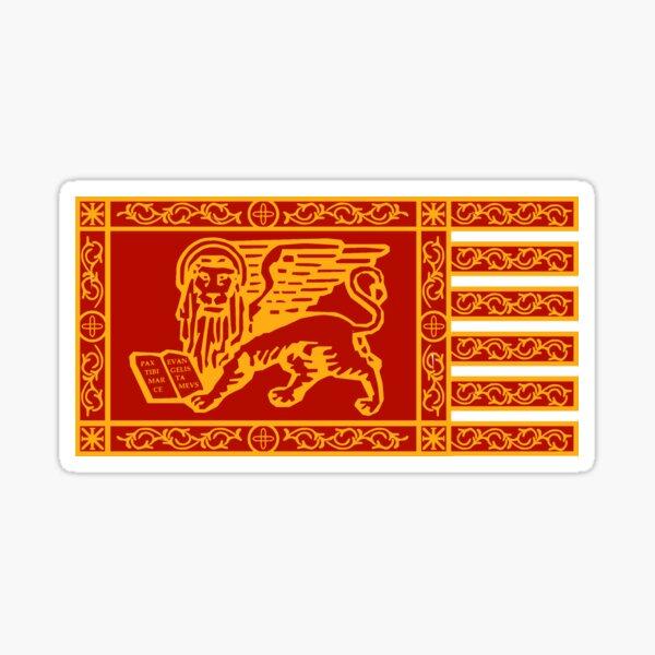 Simple Venice Flag Sticker
