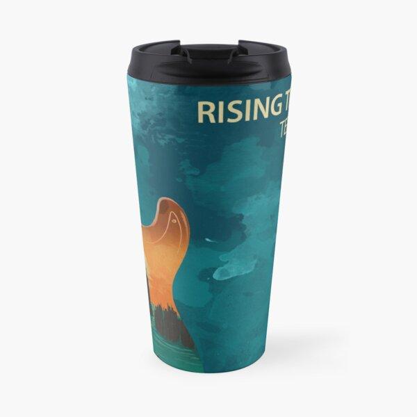 Rising Tide Blues - Aqua Travel Mug