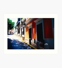 Calle De Sol Art Print