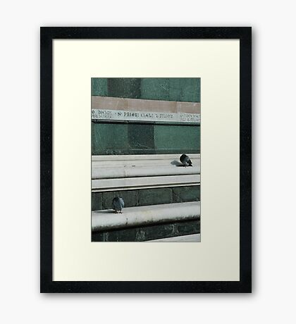 Italy – Florence Framed Print
