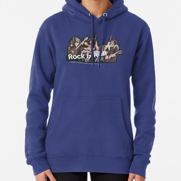 KISS - Rock & Roll All Nite - Awesome KISS Song Tribute Pullover Hoodie