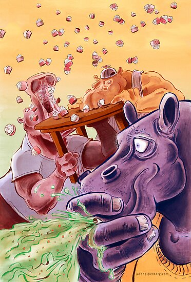 Feed the Hippos by Jason Piperberg