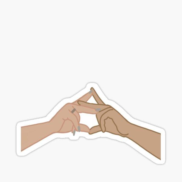 AGD hands Sticker