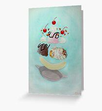 Hamster Sundae! Greeting Card