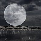 Full Moon On The Rise by Clive
