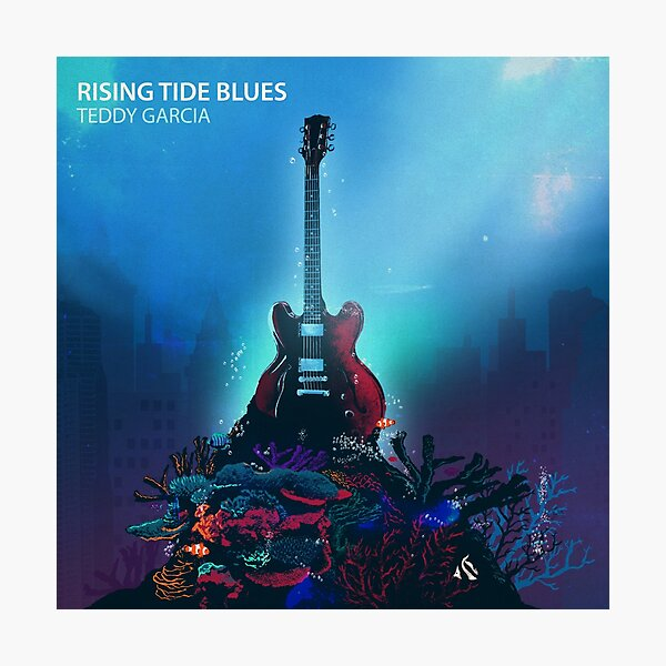 Rising Tide Blues - Gibson ES 330 Photographic Print
